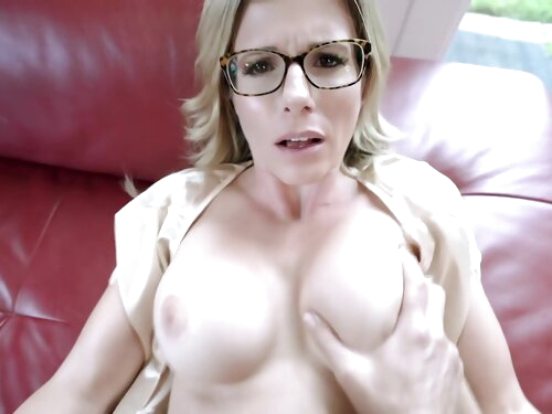 Step Mom Caught Me Looking At Her Site - Cory Chase