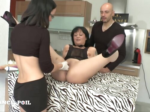 Ffm Exciting Darkhaired Babe Mommy Gets Analized