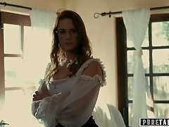 Unspoiled TABOO Lena Paul Creampied By College Buddy As Her Wife Siri Dahl Watches