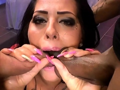 Ashley in blowjobs jizz shots and gangbang actions