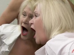 AGEDLOVE Hardcore action came when horny mature seduced dude