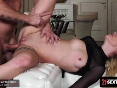 Tempting Blonde Goes To Work On The Manager Cock