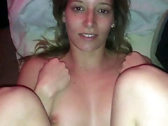Creampie Beaver For Cute Blonde Woman - Juicy Bombshell Gets Bitchy