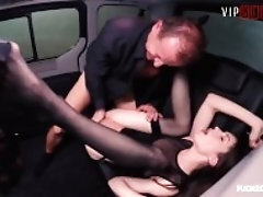 VipSexVault - Hot Russian Teen Prostitute Makes It Rain Twice In a Czech Taxi