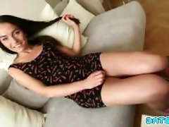 appointment Slam - Smoking molten brunette assfucked on 1st appointment - Part 1