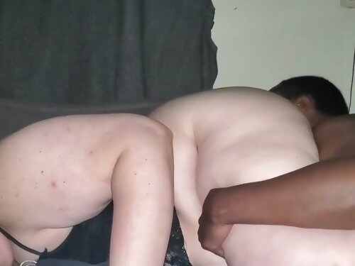 My Man Likes To Eat My Fat Wet Pussy From The Back