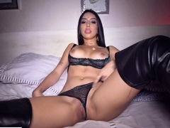 Fledgling latina is ready for a big dick