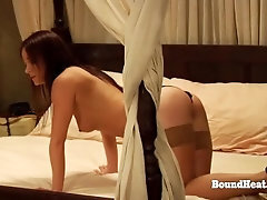 Young Sapphic Subs Masturbated By Their Madame