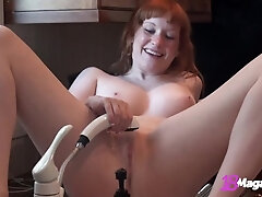 Finest Clips Of Youthfull Fire Goods Lucy Daily Finger Nailing That Pinkish Pussy!