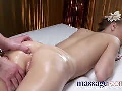 Massage Sphincters Petite taut youthfull Russian adores the hard-on that fills her