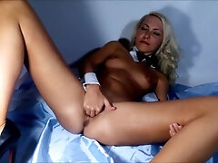 Pussy stretched enrapture close-up Vaginal going knuckle deep