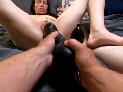 Milf Gets Stretched And Fisted. Hot Moms Lost Pov