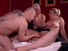 german personal swinger duo soiree with housewifes