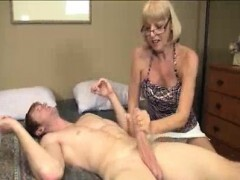 Granny Wants To Observe Young Huge Shaft Pour out With Spunk