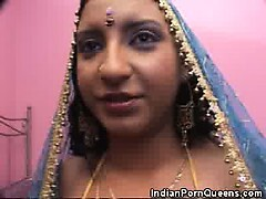 Indian Babe Undressed and Pussy Ate