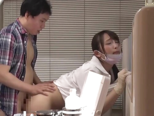 Hold The Moan Sex At Work With Busty Japanese Dental Hygienist Nao Kiritani